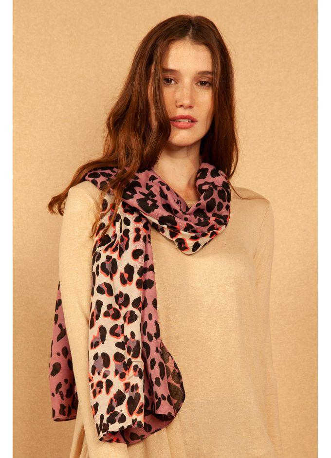 Pashmina-Leopard-Violeta