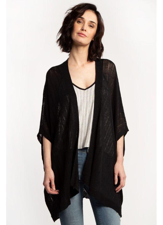 Kimono-Floria-Negro