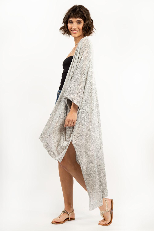Kimono-Regien-Gris